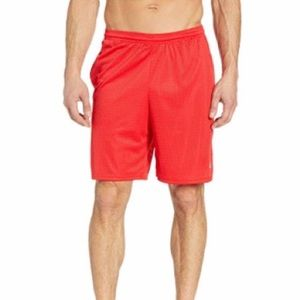 Men's Red Champion Shorts